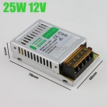 2.1A 12V 25W led power supply