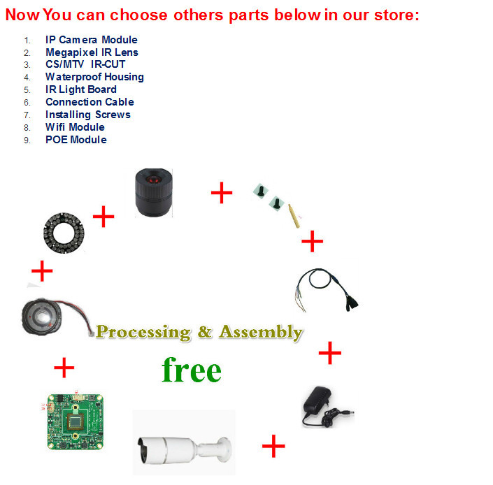 DIY ip camera IVAN offer free assembly