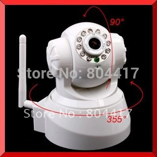2015-New-High-Quality-White-Wireless-IP-Network-Pan-Tilt-Security-WIFI-Audio-CCTV-10-IR
