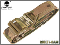 New Emerson Mens Tactical CQB Rappel Nylon Airsoft Belt with 1000D Metal Buckle High Density Duty Belt