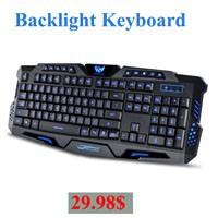 Urban-radius-usb-cable-luminous-gaming-laptop-keyboard-3-color-backlit-keyboard-for-cf-lol-Free