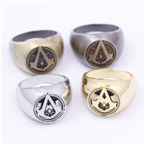 Assassins-Creed-Master-Ring-Anmie-Cosplay-Accessories-Bronze-anti-silver-4-color-men-anillos-for-Christmas