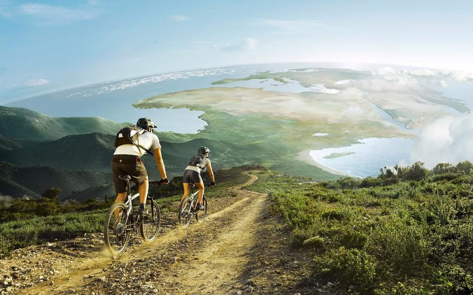 Grote Slaapkamer Winkel : Mountain Biking Wallpaper HD 1600 X 900