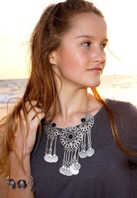 Tassel-necklace
