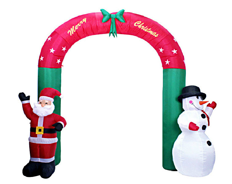 inflatable christmas arch 1