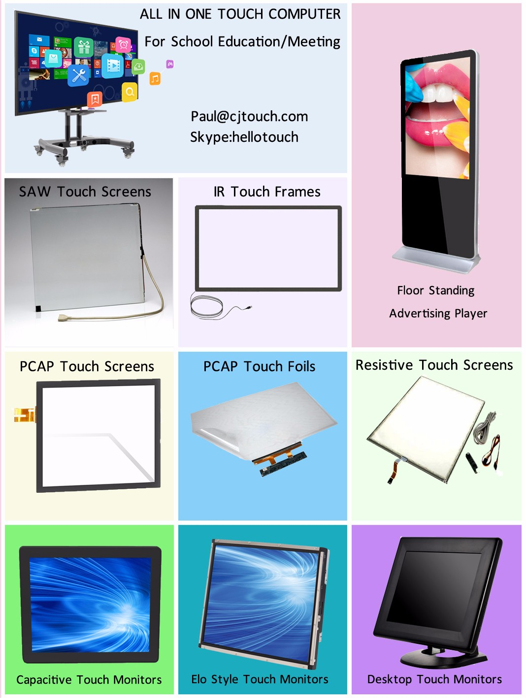 What CJTouch Make