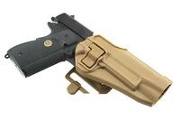 CQC Airsoft For Colt 1911 Tactical SERPA Holster - Tan gun hard plastic holster