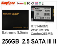 New Kingspec 2.5 SATA3 SATA III II SSD 256GB 240gb ssd sata3 Solid State Drives Metal SM2246EN With Cache:256MB
