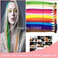 New-Arrival-1000PCS-18-45cm-Japan-High-Temperature-Silk-Natural-Hair-Feathers-Plumas-Para-El-Pelo