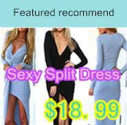 Sexy Split Dress