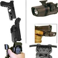 Blackhawk Holsters Black Level 3 Tactical Glock TAC SERPA Pistol Holster Glock