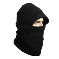 1Pc Set Outdoor Tactical Winter Thermal Hood Face Mask Fleece Hat Balaclava Neckwear Multifunction Collar Motorcycle Ride Gator