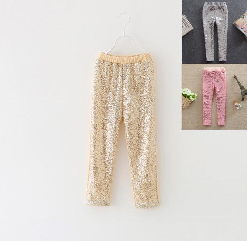 EMS-DHL-Free-shipping-Baby-Girls-Toddlers-Ruffles-legging-kids-candy-Sequined-Cotton-Leggings-girls-fashion
