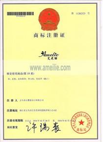 Amelie certicifate
