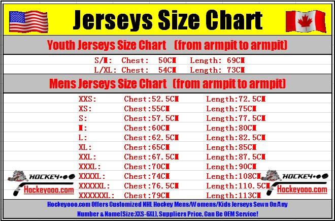 Jersey Chart