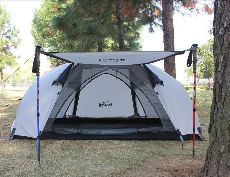 2014-Top-Fasion-Outdoor-double-double-aluminum-rod-tent-More-than-four-seasons-camping-tent-camping
