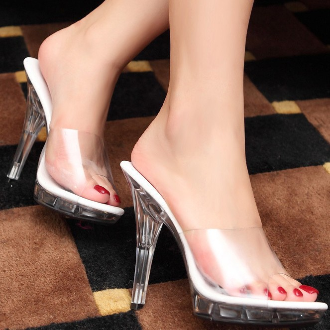 2015-summer-classic-sexy-female-super-high-heels-12cm-transparencies-fine-with-waterproof-sandals-Slipper-Free