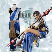 Final Fantasy 13 Oerba Yun colmillo cosplay