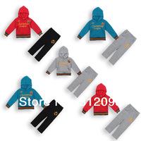 Retail Spring Autumn two-Pieces Kids Clothing sets sport Suit Boys Clothes Hoodies jacket+pants Suit Little Spring GLZ-T0140