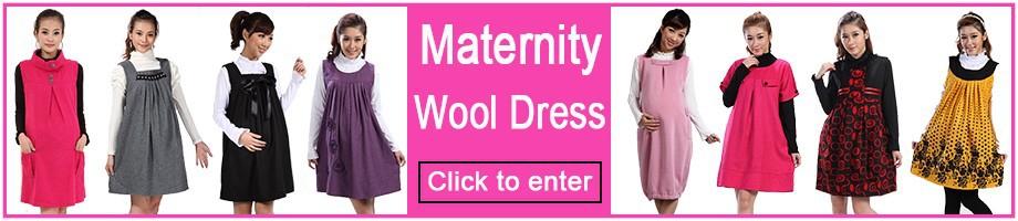 Maternity Dress Wool