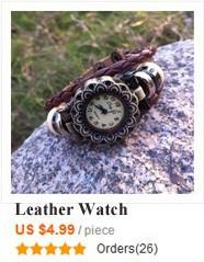 leather watch HW662