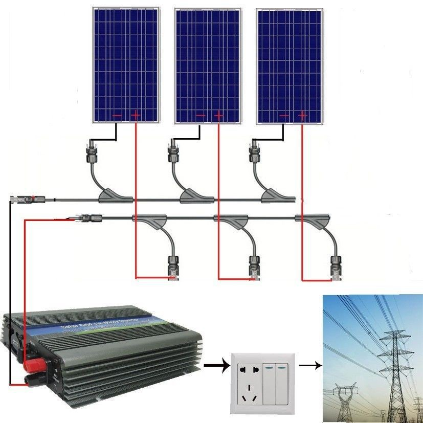 EU-stock-Large-USA-style-300W-COMPLETE-KIT-3-100W-WATT-PV-poly-Solar-cell-Panel
