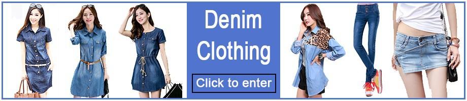 Women Denim Clothing