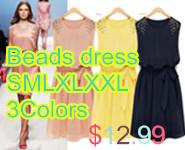 beads dress
