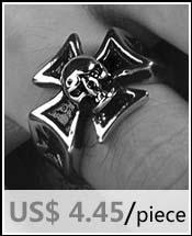 skull punk ring 5