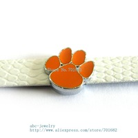 Multiple options! sport team SL349 Internal Dia.8mm slide Charms Jewelry Finding fit 8mm wristband pet collar key chain