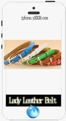 Lady Leather Belt