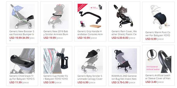 babyzen yoyo stroller accessories