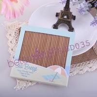 Beach Party Bamboo Coaster Wedding Favors BD035