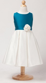 peacock-ivory-color-block-satin-dress-11