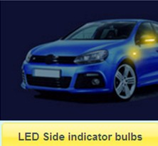 LED Side indicator bulbs