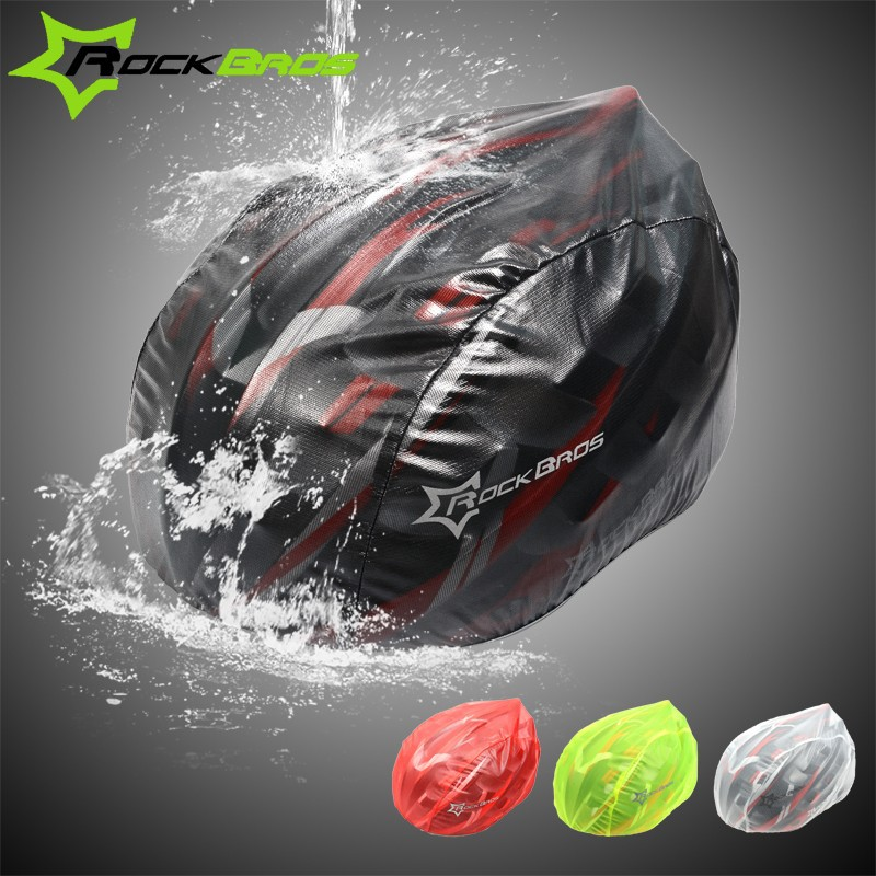 Rockbros-New-Arrival-Windproof-Dust-proof-Rain-Cover-MTB-Road-Bike-Helmet-Cover-4colors