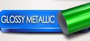 glossy metallic