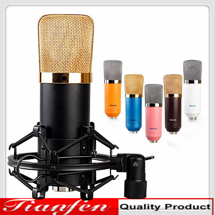 2014-Hot-Sale-BM-700-Professional-Sound-Studio-Recording-Microphone-Computer-Ktv-Capacitance-Karaoke-Wired-Mic