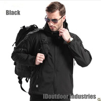Pro Mens Luker TAD Jacket Shark Skin Soft Shell military uniform Paintball Airsoft suit 6 colours