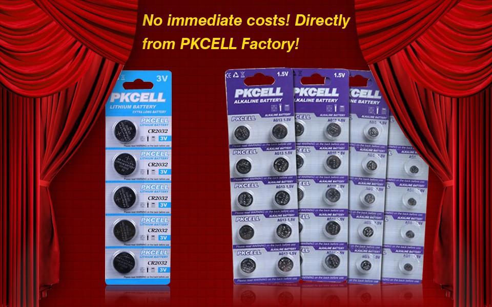 CR2032 CR2025 CR2016 AG13 LR44 AG10 LR41 Button Cells