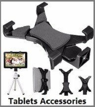 Universal-Tripod-Mount-Holder-Clamp-Bracket-1-4-Thread-Adapter-For-iPad-Any-7-to-9