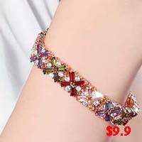 Color Zircon Bracelet-8