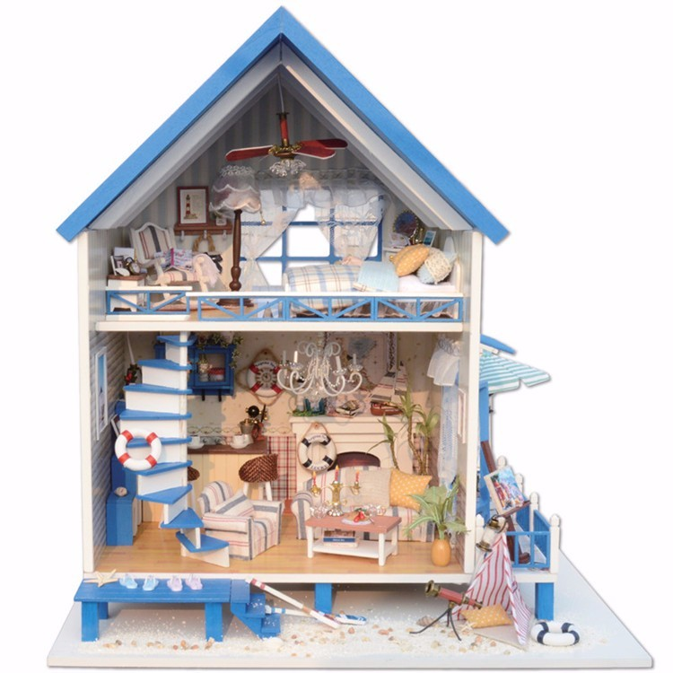 Wooden DIY Doll house