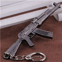 AK47-Model-Keychain-Cross-Fire-CF-Metal-Pendant-Key-Chain-Automatic-Rifle-ak-47-Gun-Figure