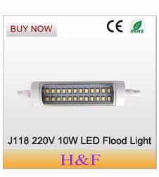 LED J118 220V 10W