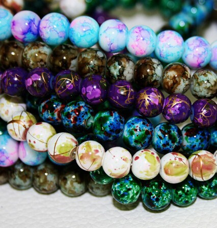 2015-New-Arrival-8MM-100pcs-lot-Bead-Round-Assorted-Colorful-Glass-Beads-Wholesale-or-Retail-BBD016