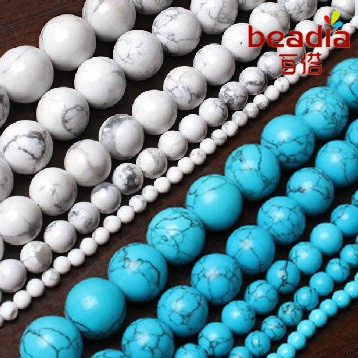 Wholesale-4MM-6MM-8MM-10MM-Natural-White-and-Sky-Blue-Howlite-Turquoise-Stone-Beads-For-Bracelet