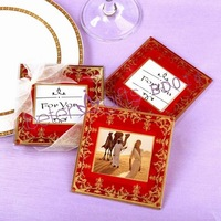 Imperial Exquisite Glass Photo Coasters wedding gifts BD014