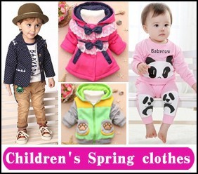 3 children's spring clothes