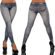 One-size-Stretchy-Jean-look-Fashion-legging-for-women-sexy-Leggins-Slimming-Jeggings-Wholesale-free-shipping